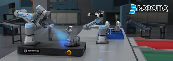 Collaborative robots with vision systems consistently and repeatedly follow exact processes and pre-defined workflows