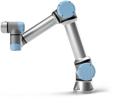 UR5, the industry's most popular cobot, optimizes machine tending, pick and place, and testing
